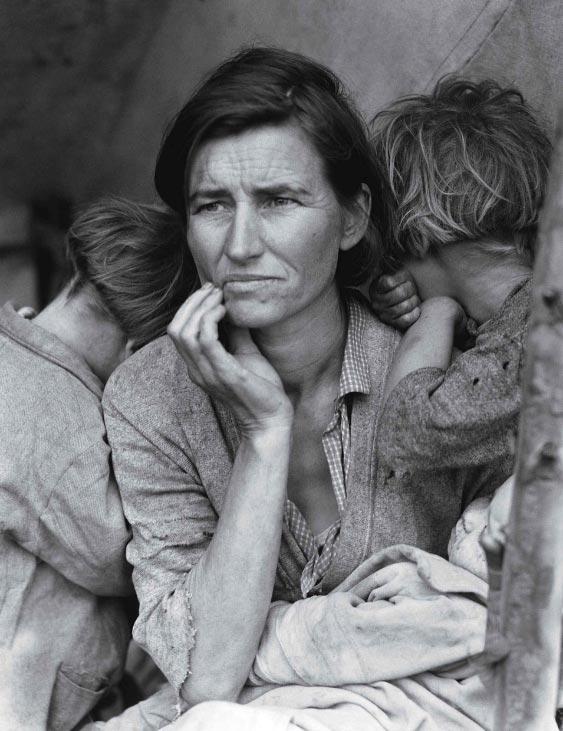 dorothea lange migrant mother 1936