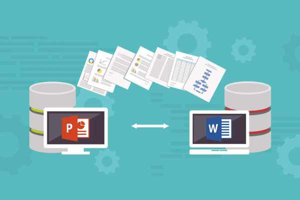 convert PowerPoint to word